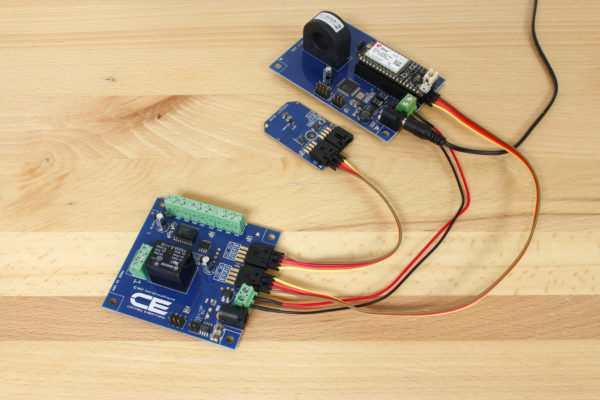Cellular Energy Monitor Humidity Sensor and Relay Board