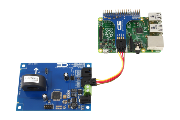 AC Energy Metering with Raspberry Pi 3 1-Channel 20-Amp