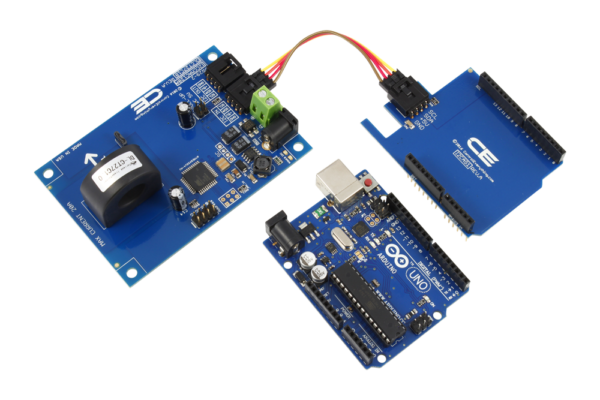 AC Energy Metering with Arduino Uno 1-Channel 20-Amp