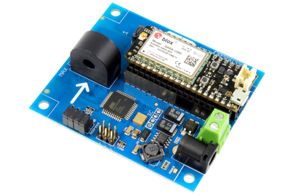 DLCT03C20 Current Monitoring Controller 1-Channel 20-Amp with Cellular Connectivity using Particle Electron