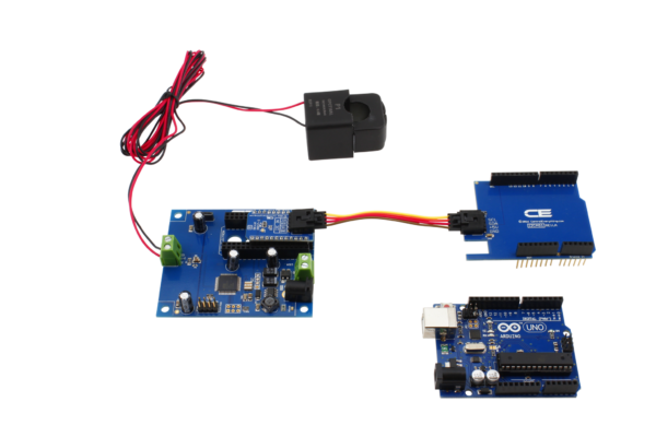 I2C Current Monitoring for Arduino Uno
