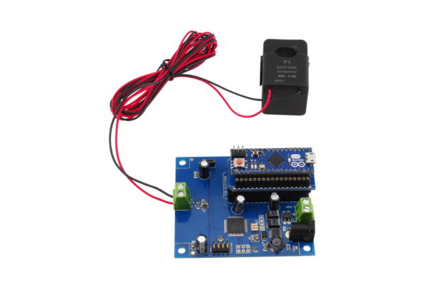 I2C Energy Monitoring Controller with Off-board Sensors for Arduino Micro