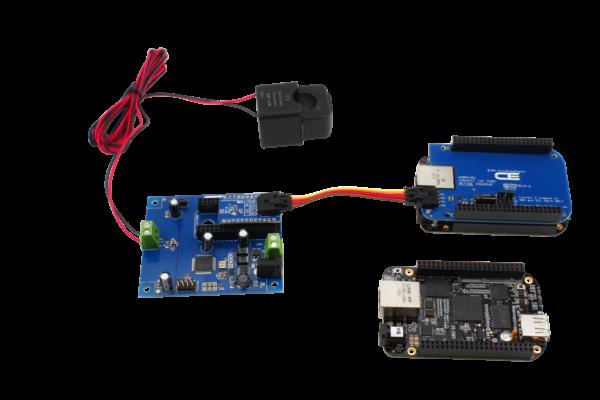 I2C Energy Monitoring Controller with Off-board Sensors for Beaglebone
