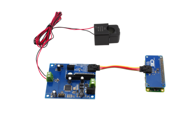 I2C Energy Monitoring Controller with Off-board Sensors for Pi Zero