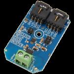 ACS714 5-Amp Hall-Effect Current Sensor ADC121C 12-Bit Analog to Digital Converter I2C Mini Module