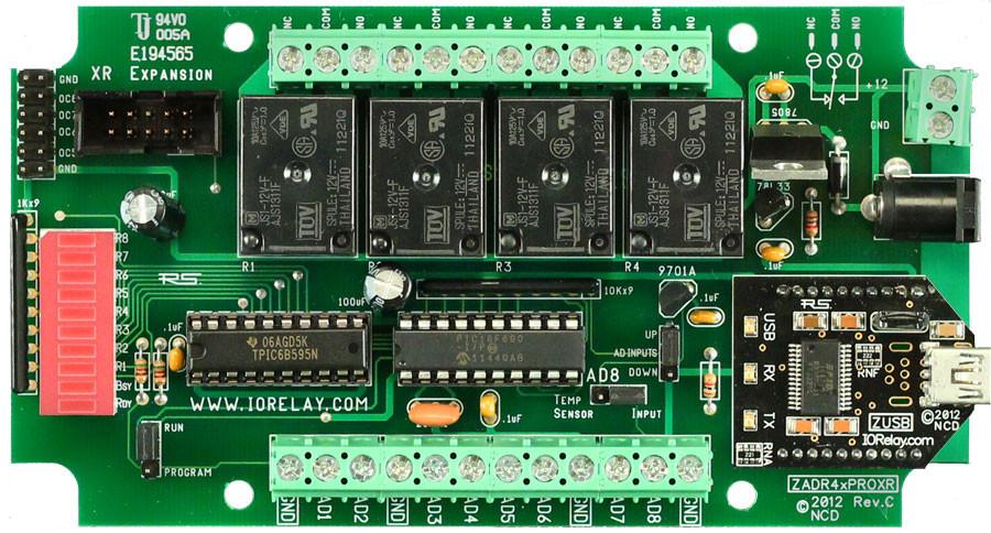 4-Relay Controller Board