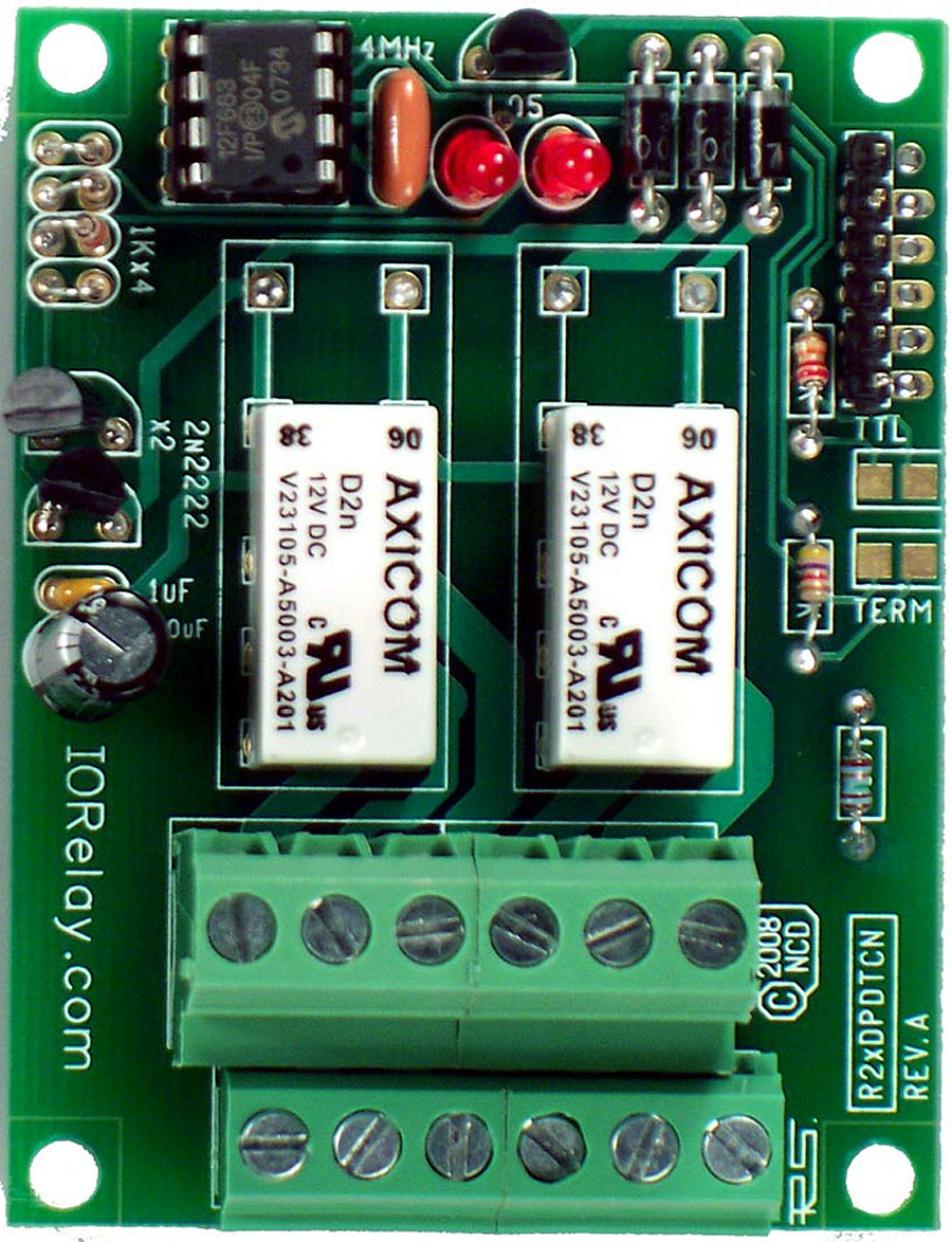 Rs 232 2 Channel Dpdt Relay Controller Dc Motor Please