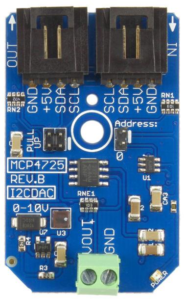 0-10V DAC raspberry pi arduino