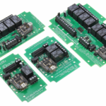 USB Relay Controllers with SPDT Relays and Analog to Digital Conversion