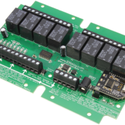 USB Relay Controller 8-Channel SPDT Relays and 8-Channel ADC