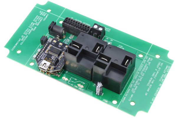 USB Relay Controller 2-Channel High-Current Relays and 8-Channel ADC