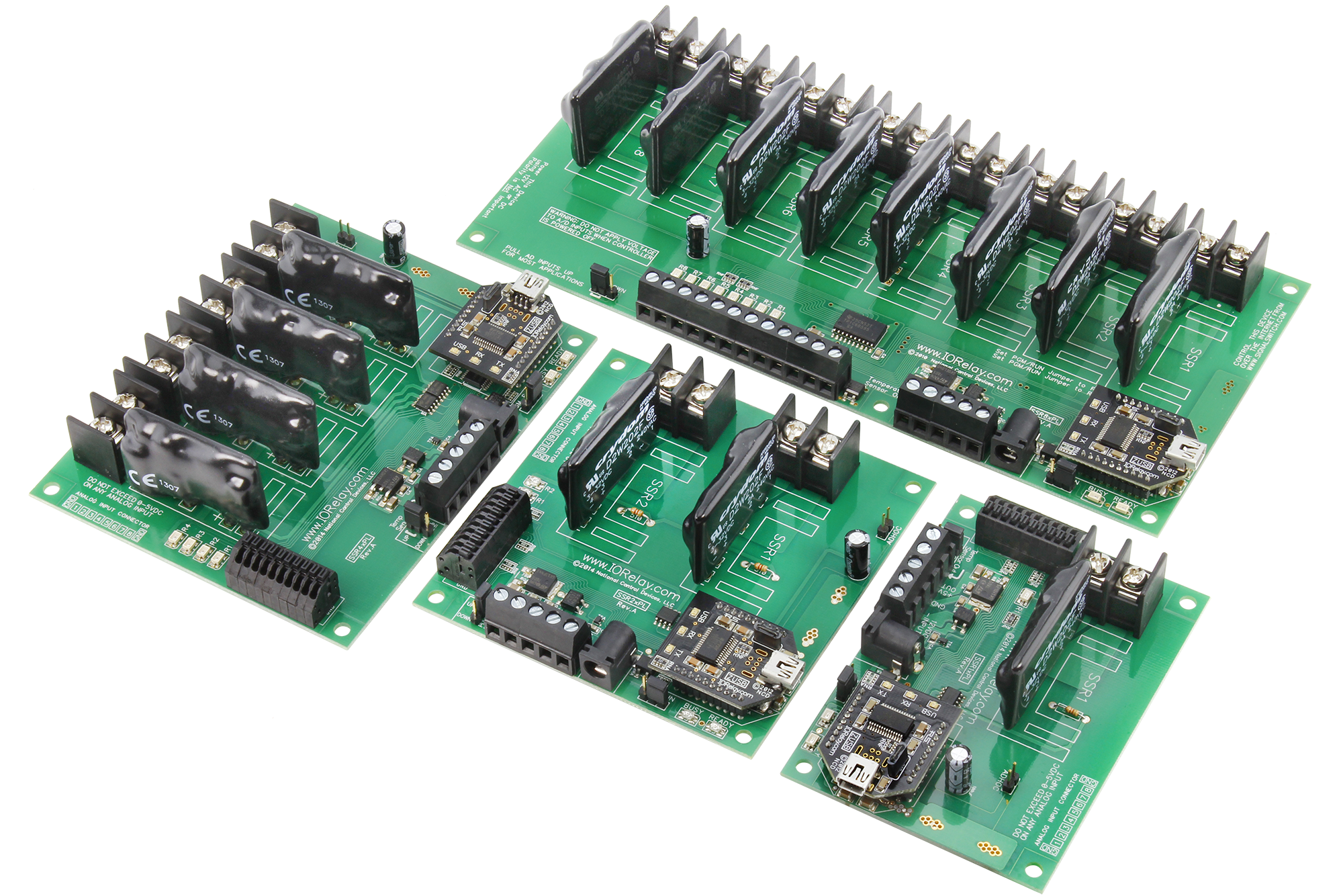Usb relay board high power usb relays for industrial applications usb relay board with solid state relays and analog to digital conversion sciox Images