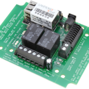 Ethernet Relay Board 2-Channel SPDT with 8-Channel ADC