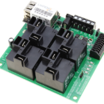 Ethernet Relay Controller 4-Channel High-Current with 8-Channel ADC
