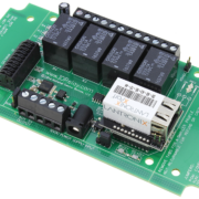 Ethernet Relay Board 4-Channel SPDT with 8-Channel ADC