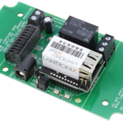 Ethernet Relay Board 1-Channel SPDT with 8-Channel ADC