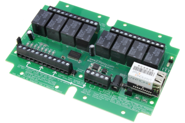 Ethernet Relay Board 8-Channel SPDT with 8-Channel ADC