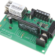 Ethernet Relay 1-Channel Solid-State with 8-Channel ADC