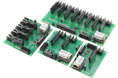 Ethernet WebRelay Relay Controllers with 8-Channel ADC