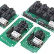 Ethernet High Power Relay Controllers with 8-Channel ADC