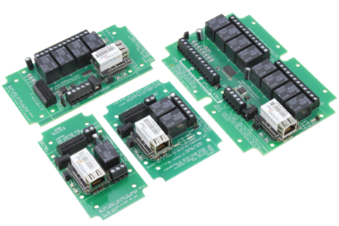 Ethernet Relay Controllers with SPDT Relays