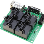 WebRelay Controller 4-Channel Ethernet High Current with 8-Channel Analog to Digital Converters