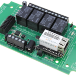 WebRelay Controller 4-Channel Ethernet SPDT with 8-Channel ADC