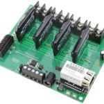 WebRelay Controller 4-Channel Ethernet Solid State with 8-Channel Analog to Digital Converters