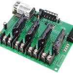 Web Relay Board Controller 4-Channel Ethernet Solid State with 8-Channel Analog to Digital Converters