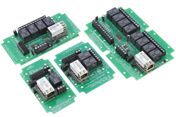 Web Relay Controllers with Ethernet Interface