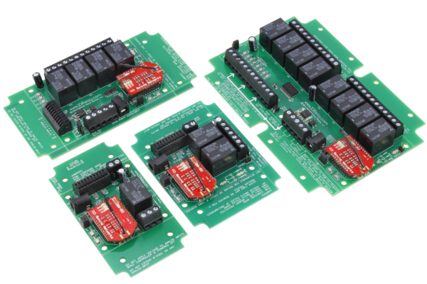 WiFi Relay Controller with SPDT Relays
