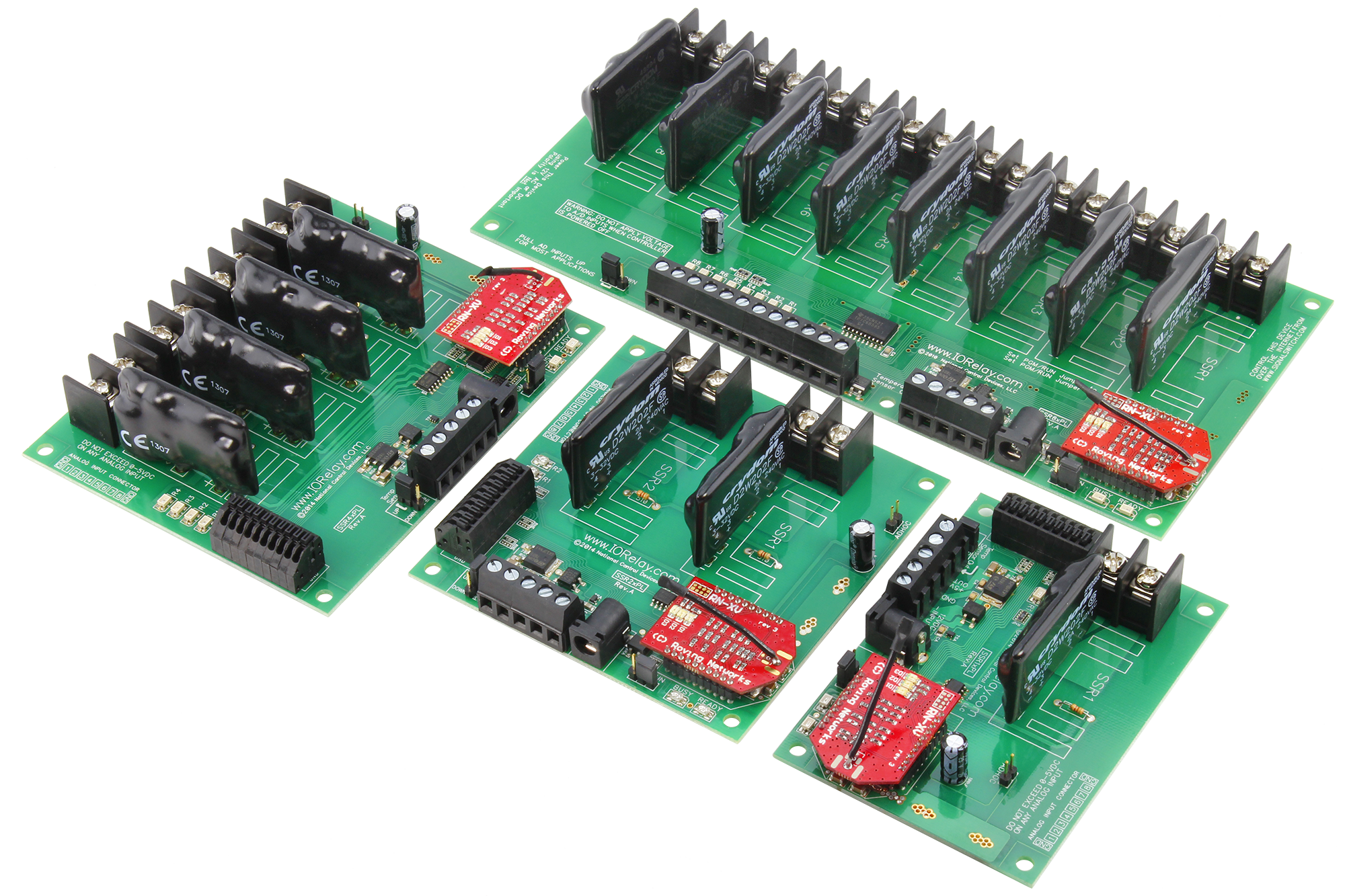 WiFi Relay Board with Solid State Relays