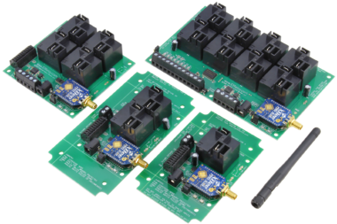 Long Range Wireless Relay Controller with High-Current Relays