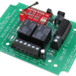 WiFi Relay Controller with 2-Channel SPDT Relays