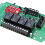 WiFi Relay Controller with 4-Channel SPDT Relays