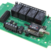 4-Channel Key Fob Relay Controller
