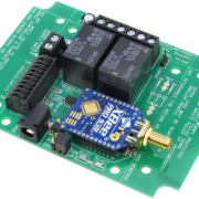 Long Range Wireless Relay Controller with 2-Channel SPDT Relays