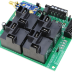 Long Range Wireless Relay Controller with 4-Channel High-Power Relays