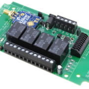 Long Range Wireless Relay Controller with 4-Channel SPDT Relays