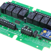 Long Range Wireless Relay Controller with 8-Channel SPDT Relays