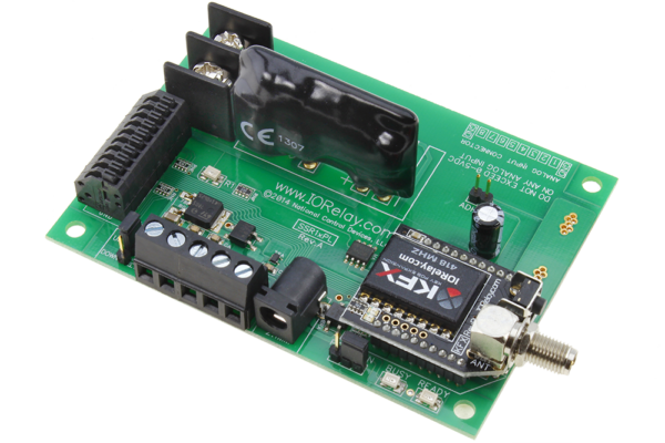 Key Fob Relay Controller 1-Channel Ethernet Solid State with Manual Relay Override