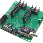 Key Fob Relay Controller 2-Channel Ethernet Solid State with Manual Relay Override