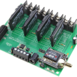 Key Fob Relay Controller 4-Channel Ethernet Solid State with Manual Relay Override