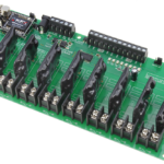 Key Fob Relay Controller 8-Channel Ethernet Solid State with Manual Relay Override
