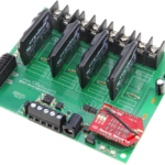 WiFi Relay Controller 4-Channel Ethernet Solid State with 8-Channel Analog to Digital Converters