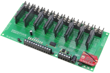 WiFi Relay Controller 8-Channel Ethernet Solid State with 8-Channel Analog to Digital Converters