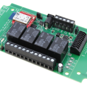 Bluetooth Relay Controller with 4-Channel SPDT Relays