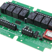 Bluetooth Relay Controller with 8-Channel SPDT Relays