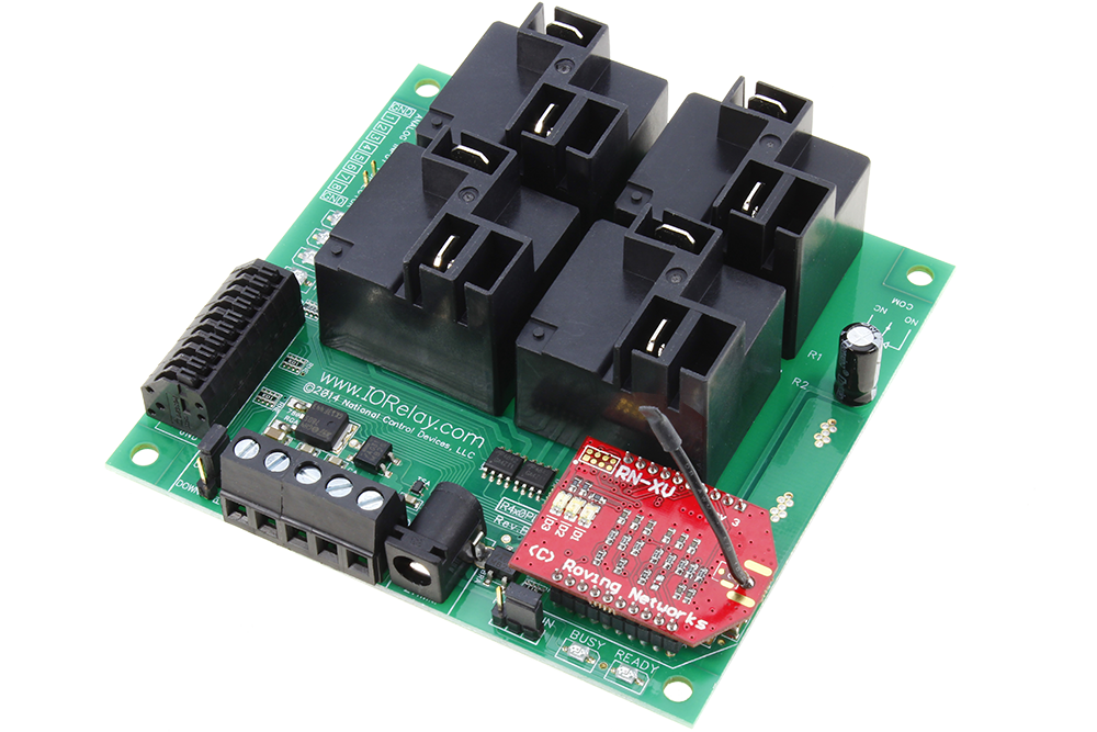 WiFi Relay Controller High Power for PC Linux Mac Android 8 ADC Inputs