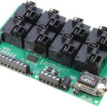 Key Fob Relay Controller with 8-Channel High-Power Relays